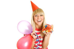 É meu aniversário! Fotos de Stock