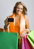 É meu cartão de crédito Fotografia de Stock Royalty Free