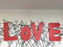 É não somente dia dos valentine's É sobre o amor Fotos de Stock Royalty Free