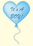 É um balão do menino Imagens de Stock Royalty Free