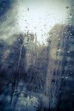 É um dia chuvoso Fotos de Stock Royalty Free