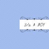 É um menino Foto de Stock Royalty Free