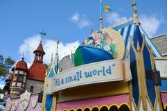 É um mundo pequeno no mundo Orlando de Disney Foto de Stock Royalty Free