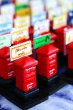 Modelo tailandês do Postbox Imagens de Stock