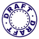 ÉBAUCHE texturisée grunge autour de joint de timbre illustration libre de droits