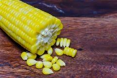 Ébullition de maïs Photographie stock