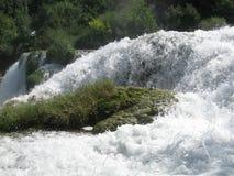 Ébullitions de l'eau Images stock