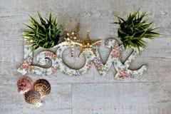 Écartez l'amour et la paix autour du monde particulièrement des vacances de Saint Valentin et de special Photos libres de droits