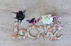 Écartez l'amour et la paix autour du monde particulièrement des vacances de Saint Valentin et de special Photo libre de droits