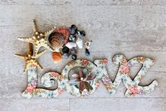 Écartez l'amour et la paix autour du monde particulièrement des vacances de Saint Valentin et de special Image stock
