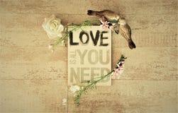 Écartez l'amour et la paix autour du monde particulièrement des vacances de Saint Valentin et de special Photo stock