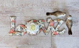 Écartez l'amour et la paix autour du monde sur le Saint Valentin et le Noël Photo libre de droits