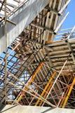 Échafaudage de construction Image libre de droits