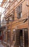 Échafaudage de Stonetown Photo libre de droits