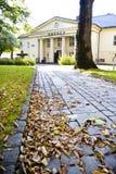 Échange courant d'Oslo pendant l'automne images libres de droits