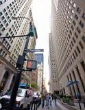 Échange courant de NYC Images stock