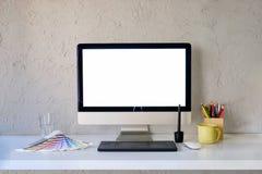 Échange d'idées de concepteur et de collègue Image libre de droits