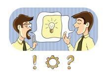 Échange d'informations Image stock