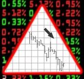 Échange de marché boursier illustration stock