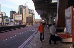 Échange de transport de croix de Vauxhall Images libres de droits