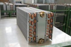 Échangeur de chaleur en aluminium photo stock