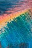 Échantillon abstrait de peinture Photos libres de droits
