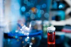 Échantillon biologique ou chimique photo libre de droits