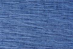 Échantillon bleu de tissu photos stock
