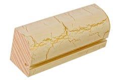 Échantillon d'élément en bois pour des portes et des fenêtres Image stock