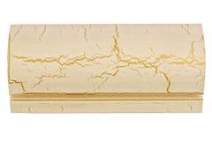 Échantillon d'élément en bois pour des portes et des fenêtres Photo libre de droits