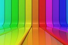 Échantillon d'arc-en-ciel Image libre de droits