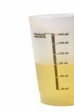 Échantillon d'urine images stock