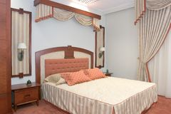 Échantillon de chambre d'hôtel Photos stock