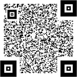 Échantillon de code de QR Photos stock