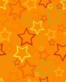 Échantillon de fond avec des étoiles Illustration Libre de Droits