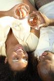 Échantillon de vin Photographie stock libre de droits