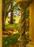 échantillon de vin dans Napa Valley photo stock