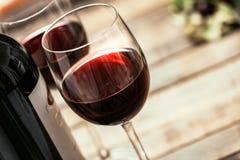 Échantillon de vin rouge photographie stock