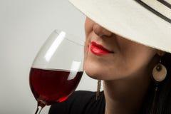 Échantillon de vin spécial Photographie stock libre de droits
