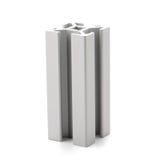Échantillon en aluminium de profil photographie stock libre de droits