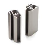 Échantillon en aluminium de profil photos libres de droits