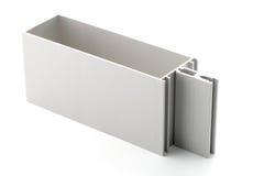 Échantillon en aluminium de profil images libres de droits