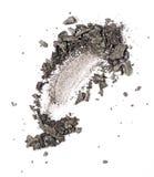 Échantillon gris de fard à paupières images libres de droits