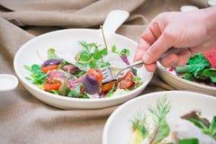 Échantillon italien de salade image libre de droits