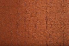 Échantillon matériel en cuir de configuration et de texture Image libre de droits