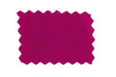 Échantillon rose de tissu photo libre de droits