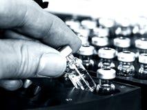 Échantillonneur automatique - la Science Photographie stock