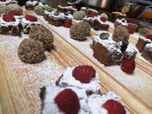 Échantillonneur de desserts photographie stock