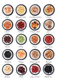 Échantillonneur de fruits secs Photo stock