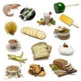 échantillonneur de nourriture Photos stock